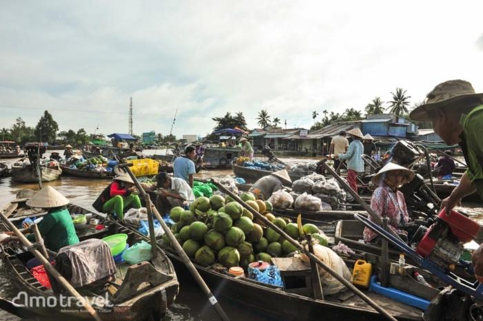 Il mercato gallegiante
